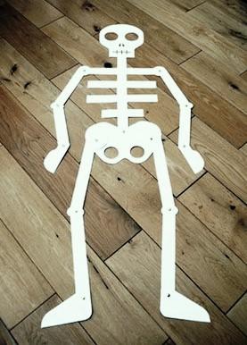 ¿Cómo hacer un esqueleto humano?